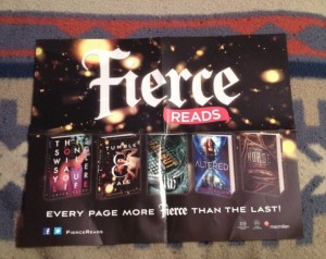 Fierce Reads Poster 1