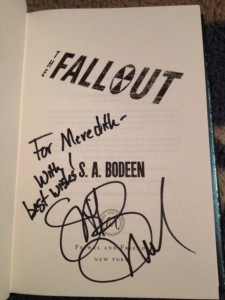 Signed Fallout