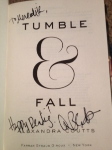 Signed Tumble & Fall