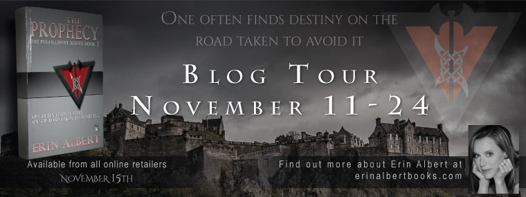 Prophecy Blog Tour Banner