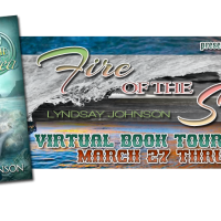 Blog Tour + Author Interview: Fire of the Sea by Lyndsay Johnson