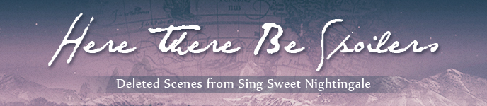 Blog Tour: Sing Sweet Nightingale by Erica Cameron (Deleted Scene + Interview + Giveaway)