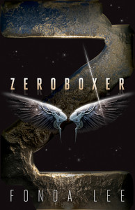 Book Trailer Reveal: Zeroboxer by Fonda Lee (Giveaway)