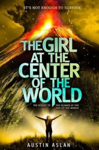 Girl at center of world