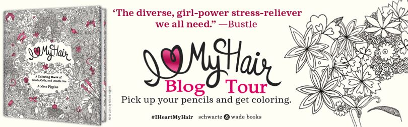 I Love My Hair Blog Tour Banner
