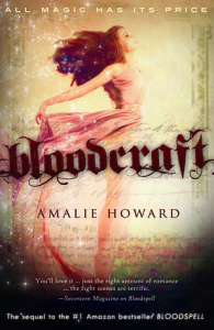 Spotlight Post: Bloodcraft by Amalie Howard (Excerpt)