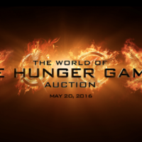 Big News: The World of The Hunger Games Auction on Thursday, May 20, 2016!