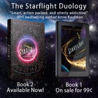 Release Week Launch: Starfall by Melissa Landers