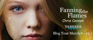 Blog Tour: Fanning the Flames by Chris Cannon (Guest Post + Giveaway)