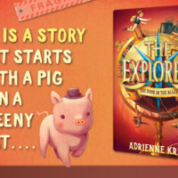 Blog Tour: The Door in the Alley by Adrienne Kress (Spotlight Post)