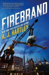 Spotlight Post: Firebrand (Alternative Detective #2) by A.J. Hartley (Giveaway)