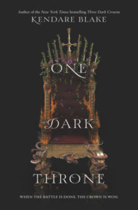 Review: One Dark Throne by Kendare Blake