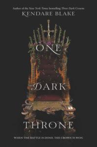 Review: One Dark Throne by Kendare Blake