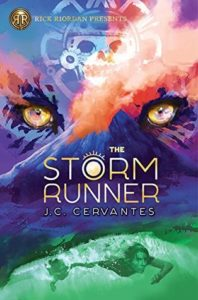 Book Birthday: The Storm Runner by J.C. Cervantes (Spotlight Post)