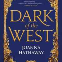 Spotlight Post: Dark of the West by Joanna Hathaway (Cover Reveal + Excerpt)