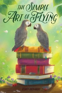 Spotlight Post: The Simple Art of Flying by Cory Leonardo is out in one month! (Giveaway)