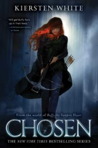 Book Birthday: Chosen (Slayer #2) by Kiersten White